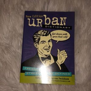 Other - Urban dictionary book